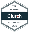 Badge for Top Software Developer Award from Clutch